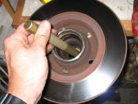 Replacing Wheel Bearing
