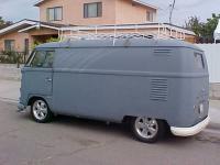 Guillermo's 1958 Panel Van