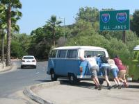 VW BUS start up