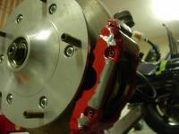brake/wheel clearance