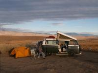 Base Camp on the Eastern Side