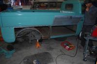 62 Turkis 261 - short panel repair