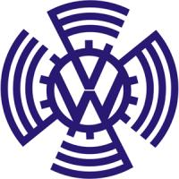 Volkswagen Cog Wheel Badge Emblem Logo