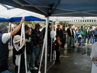 How to have a VW Show in the Rain