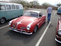 Lowered Red Ghia