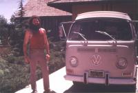 Me and my 68 Camper in 1970