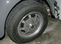 mahle wheels painted anthracite
