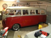 my bus sitting in the garage!