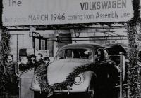 The 1000th Volkswagen Built During March 1946