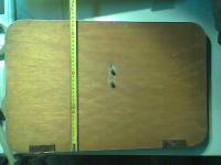 Westy cargo door folding tables