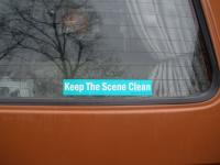 Keep The Scene Clean
