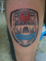 wolfsburg crest tattoo