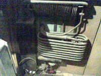 SO23 gas fridge rear part
