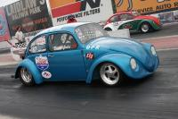 DPR sponsored cars staging at Drag Day