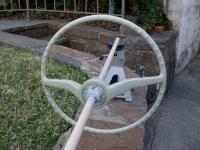 Steering Wheel L-466 Silver Beige