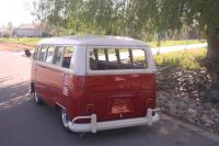 titan red bus 13 window