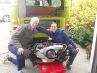 engine rebuild install