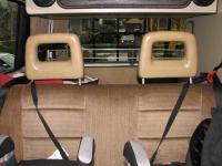 Rear headrests