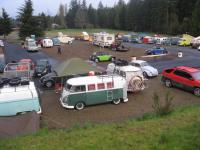 Campsite emptying out saturday morning