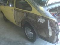 fastback before painting