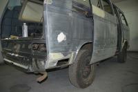 '88 Westfalia rust repair