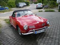 STOLEN! Karmann Ghia Convertible Bj. 70