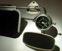 Kienxle mirror clock