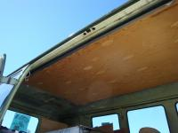 Green/Green sunroof Bus