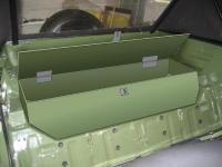 Rear storage box