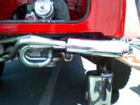 Exhaust almost done, going with the hideaway muffler instead of the stinger