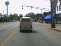 Oregon Bus in Indiana