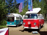 Camping at White Lake BC