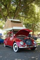 Bug Roof Tent with Whitewalls, Allstate Trailer and Decklid Rack