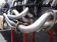 "CSP 1-3/4"" Python exhaust w/ heater boxes"
