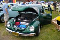Super clean Green Super belonging to James, a member of the VWCruisers