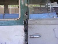 The door jamb