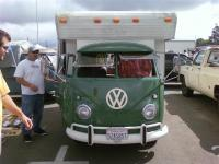 check out my friends new camper bus
