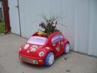 New Beetle flower pot.