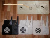 An assortment of Type 3 Mud Flaps