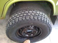 sweet pea's new tires