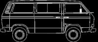 Vanagon Line Art Update