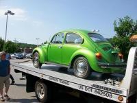 """austin"" 1975 La Grand Beetle"