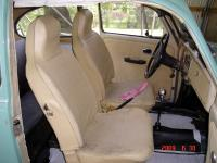 Painted seat covers