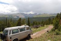 View From Browns Pass, Park County CO