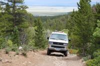 Climbing Browns Pass Park County CO