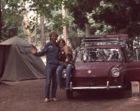 Camping in 1972 in our Squareback