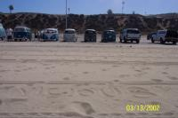 Vicious 59 STD bus at the beach