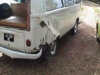 My rearended '71 westy