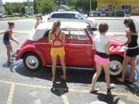 Dirty Beetles must be washed