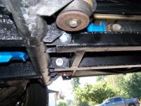 Drive shaft rock bars